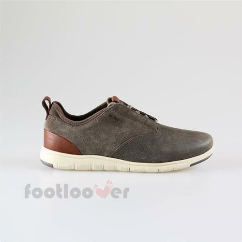 Scarpe casual da uomo  Shoes Geox Xunday 2Fit u640da c6029 Sneakers Man Sport Taupe Suede Washed Suede