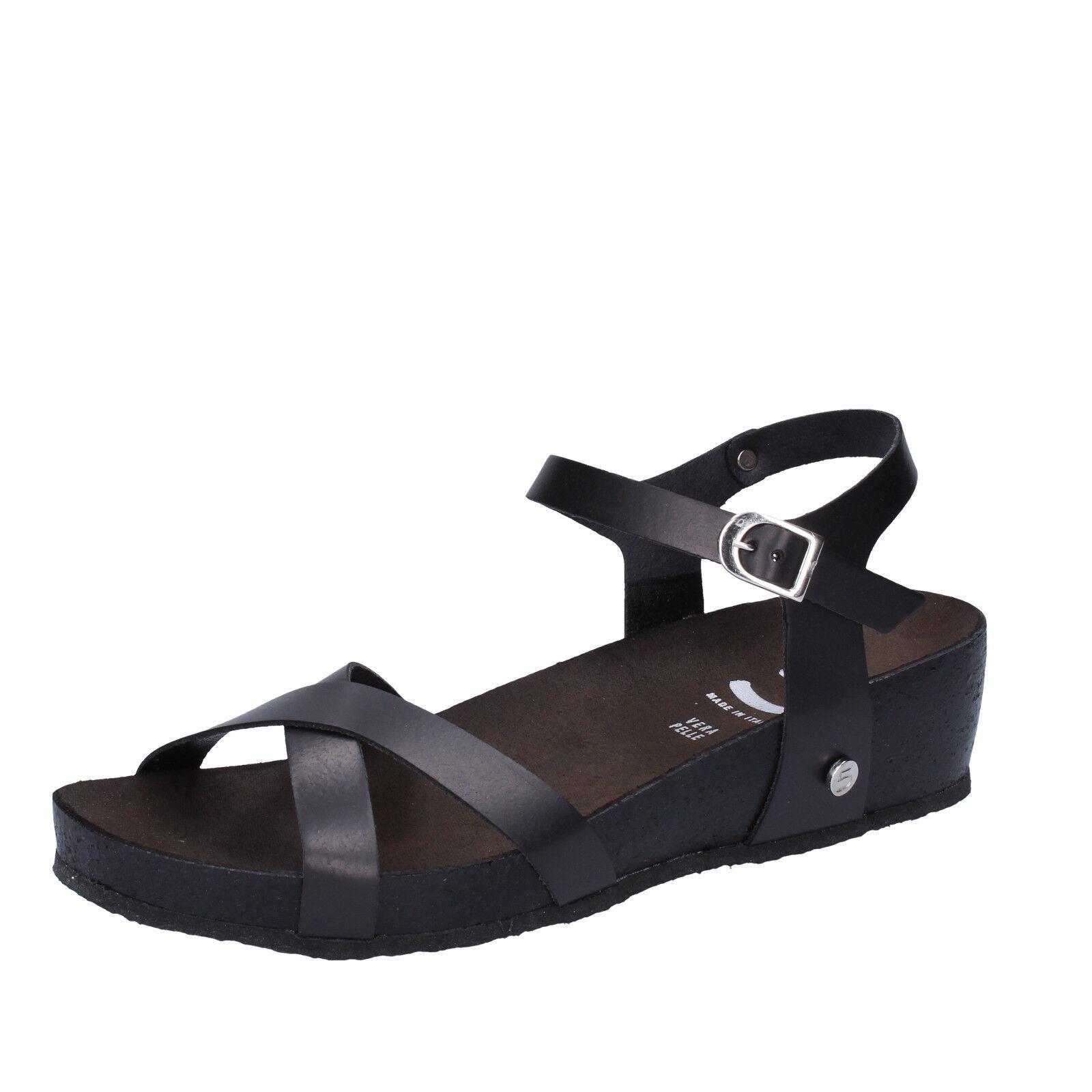 Scarpe donna 5 PRO JECT 39 AC699-E EU sandali nero pelle AC699-E 39 295f4f