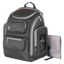 Jeep Organizer Easy Access Back Pack Diaper Bag - Black