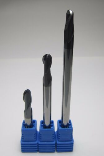 diameter 6mm R3.0 HRC45 L= 50mm 75mm 100mm Carbide Ball Nose End Mills for steel