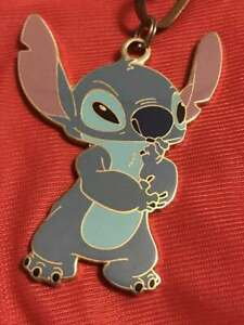 Disney Auction Exclusive P I N S Stitch Devil Lanyard Only No Pin Le 1000 Ebay