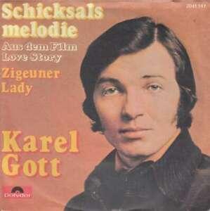 Karel-Gott-Schicksalsmelodie-7-034-Single-Vinyl-Schallplatte-21552