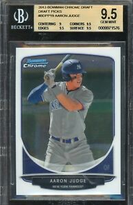 BGS-9-5-AARON-JUDGE-2013-Bowman-Chrome-Draft-Picks-Rookie-RC-GEM-MINT-QTY-AVAIL
