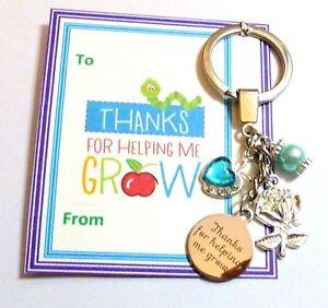 thanks for helping me grow teacher nursery teacher thank you gift