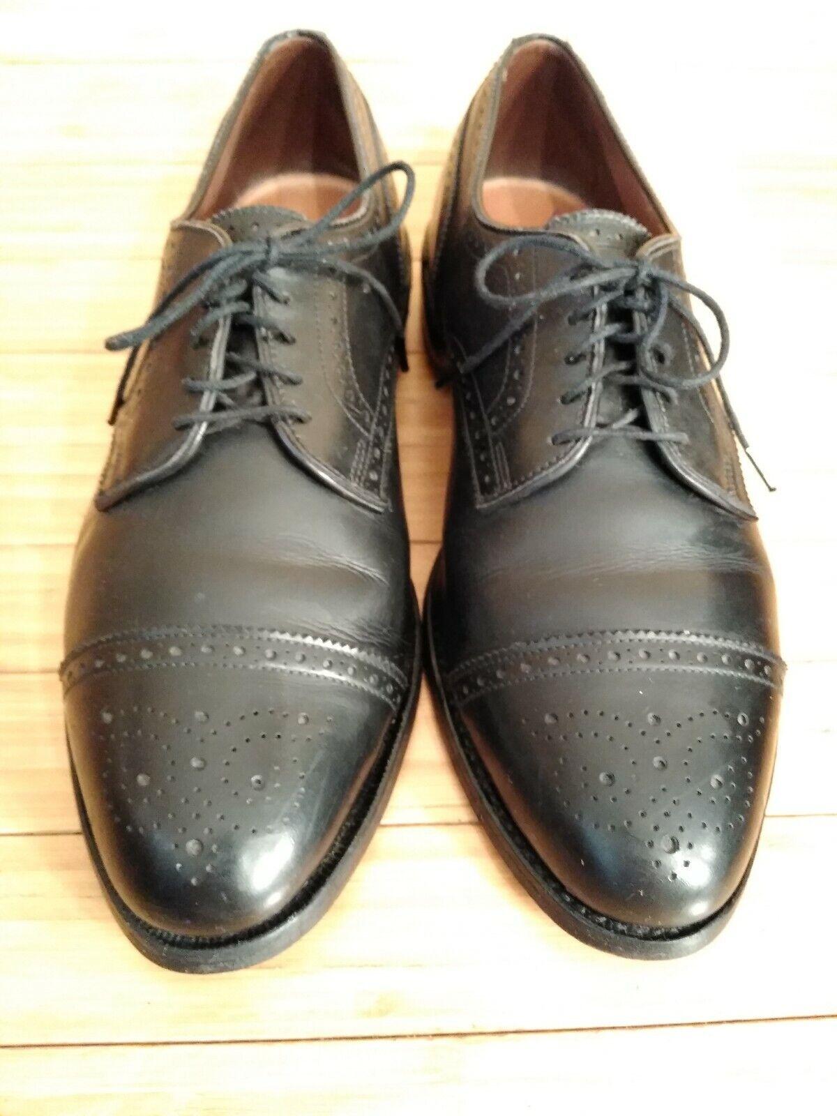 Allen Edmonds Sanford Cap Toe Dress shoes. Men's 9.5 D.
