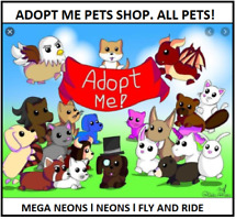 Roblox Adopt Me Neon Pet Legendary Unicorn Dragon In Video Games Merchandise Ebay For Blanja