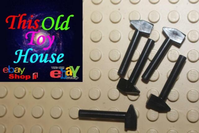 Lego 3x Reddish Brown Broom Minifig Utensil NEW
