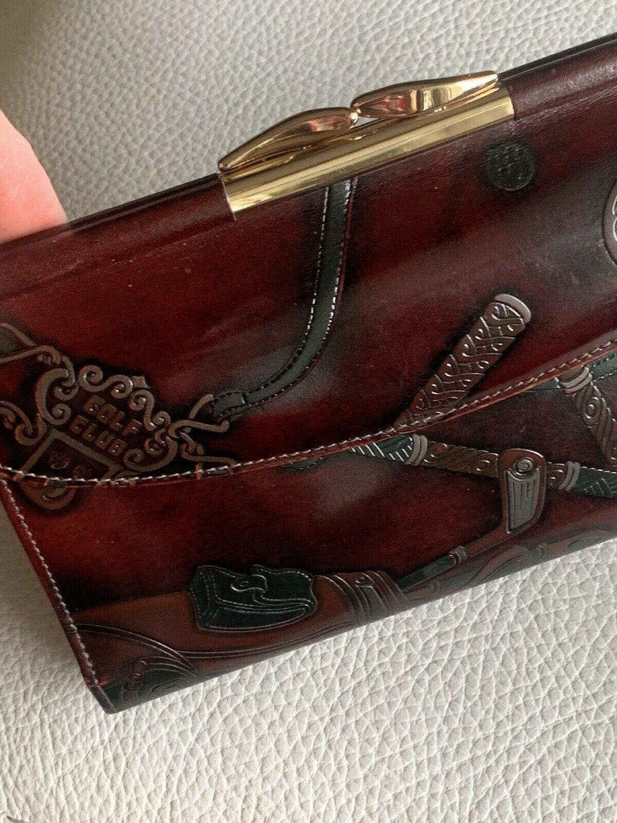 New GARY'S Leather New York Women's Wallet s7 1/4