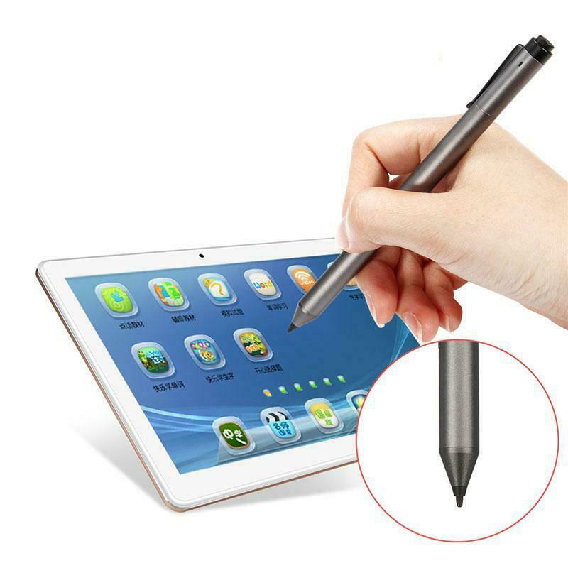 Broonel Silver Mini Fine Point Digital Active Stylus Pen Compatible with The Dell XPS 13 13.3 Inch Dell XPS 13 7390 13.3 Inch Dell XPS 13 2-in-1 Laptop