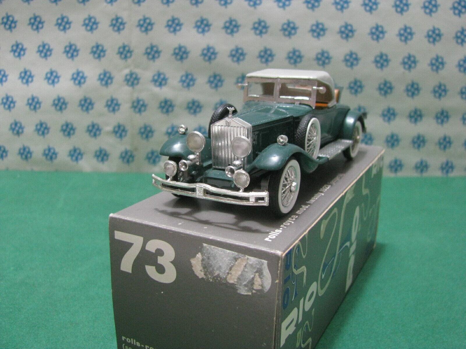 Vintage -  ROLLS-ROYCE 1931   -  1 43  Rio n°73  Mint Box
