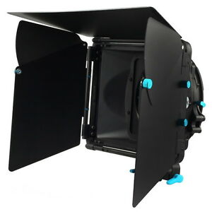 FOTGA-DP3000-M2-Mattebox-w-Sunshade-Filter-Tray-For-15mm-Rod-DSLR-Camera-Rig-US