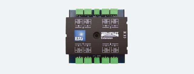 Esu 51801 Switchpilot Extension, 4 x Relay Output Nip