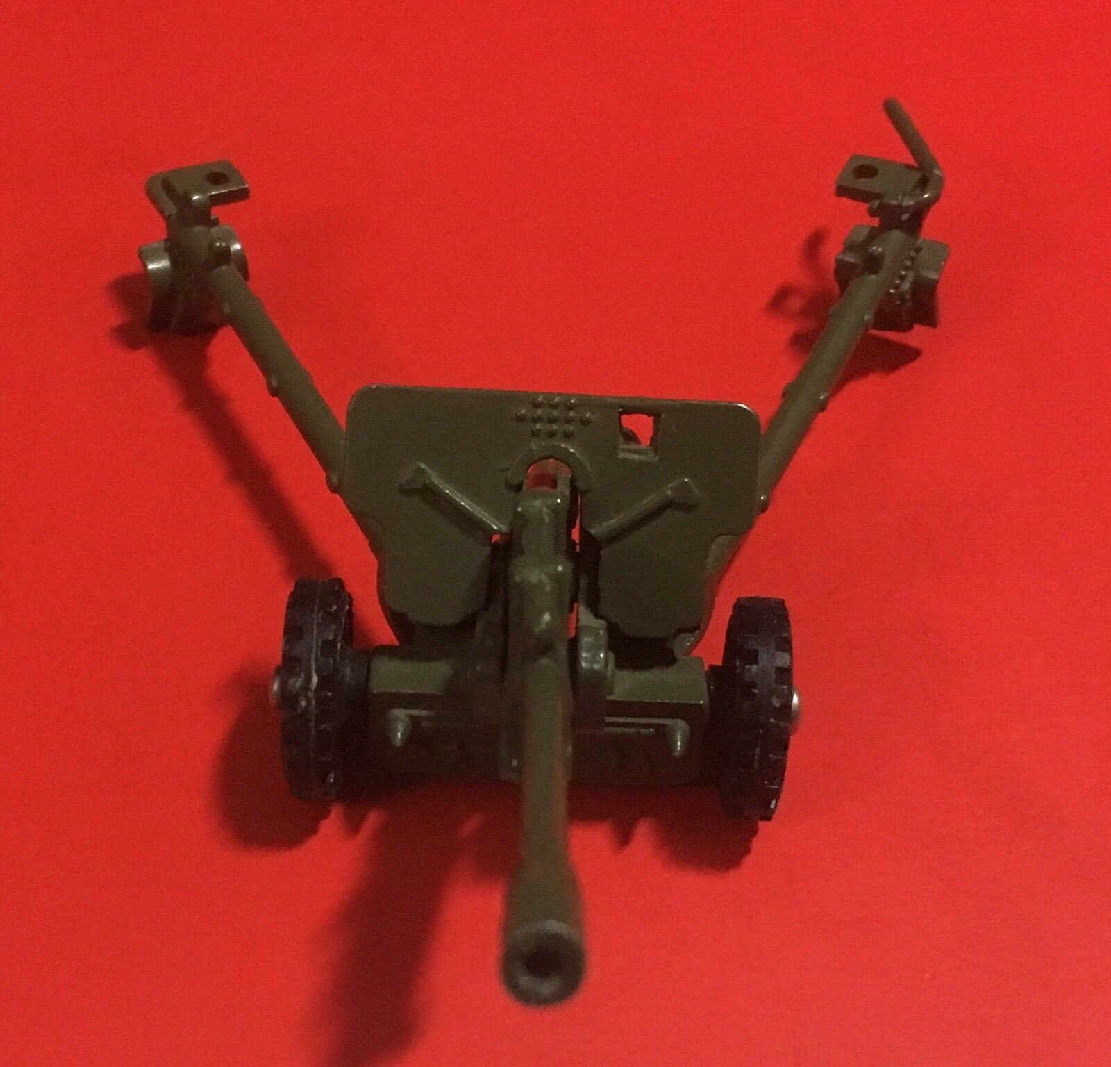 Vintage USSR 1 43 Artillery Gun Anti-Tank Military Metal Toy NIB