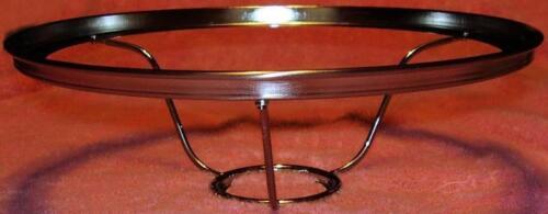 GENUINE ALADDIN  10 inch Nickel Ring Shade Holder alladin oil lamp 7 to 23a B