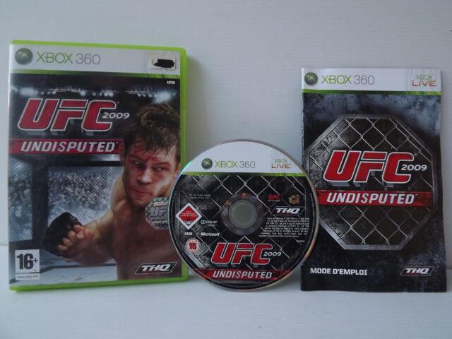 UFC 2009 Undisputed Jeu XBOX 360 Complet avec Notice
