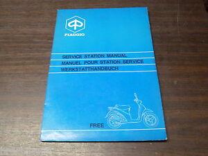 Manuel Revue Technique D Atelier Piaggio Free 50 1993 -> Service Manual Hhyjbnq7-08001059-338589723