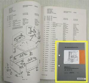 Steinbock-JE-10-13-15-Elektro-Gabelstapler-Ersatzteilliste-Parts-List-1994-96