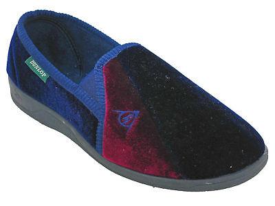 Zapatillas Dunlop Velour Doble Escudete al aire libre Duncan Para Hombre Slip On Edición Limitada