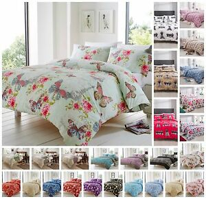Image Is Loading High Quality Bed Linen Duvet Quilt Cover Sets