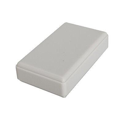 5pcs White Plastic Electronic Project Box Enclosure case DIY 18x42x70mm new