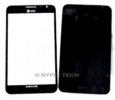 Black Replacement Screen Glass Lens for Samsung Galaxy Note 1 SGH-i717 +Adhesive