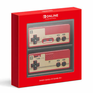 Nintendo-Switch-en-linea-joycon-Famicom-controlador-oficial-de-importacion-de-Japon