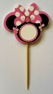 12-x-MINNIE-MOUSE-Cupcake-Toppers-MINNIE-MOUSE-theme-Cake-Cup-Cake-Toppers