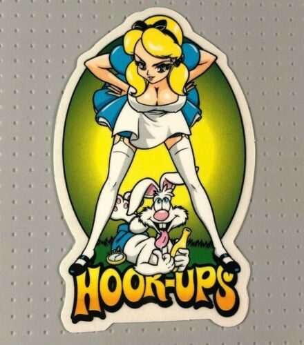 Hook-Ups Skateboard Sticker 2020 02 #14 Hookups