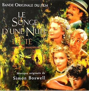 Simon Boswell CD William Shakespeare's A Midsummer Night's Dream (Original Motio