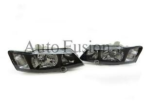 Black-Headlights-Pair-For-Holden-Commodore-VY-2002-2004
