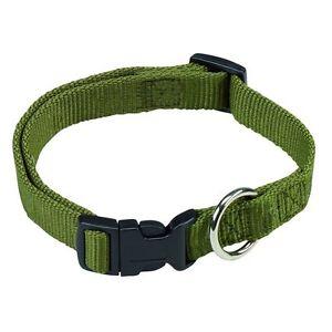 Farm-Land-Halsband-Hunde-Hundehalsband-Jagd-Forst-Reflektor-oliv