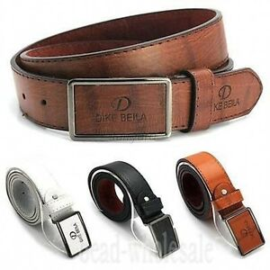 Men-039-s-Casual-Waistband-Leather-Automatic-Buckle-Belt-Waist-Strap-Belts-Hot-Sale