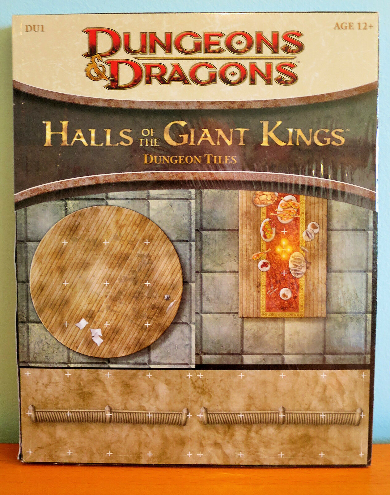 Halls of the Giant Kings Dungeon Tiles NEW SEALED - Dungeons & Dragons