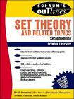 Schaum's Outline of Set Theory and Related Topics by Seymour Lipschutz (Paperback, 1998)