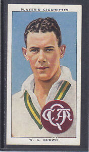 John-Player-Cricketers-1938-39-Bill-Brown-New-South-Wales