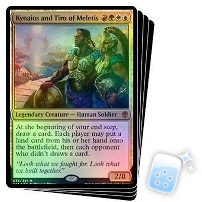 FOIL Kynaios and Tiro of Meletis ~ Commander 2016 ~ MINT//NearMint ~ Magic MTG