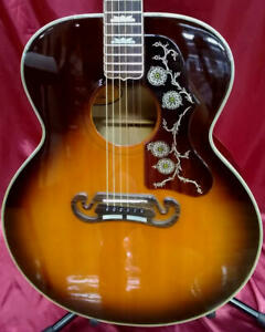 Orville by Gibson J-200 Sunburst Made in Japan Acoustic Guitar, L1224