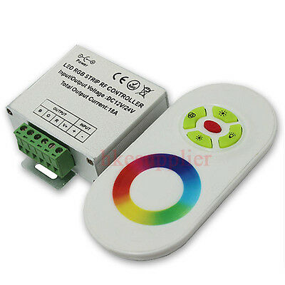 Touch Screen Dimmable Remote Wireless RF Controller For Led RGB Moudle Strip New