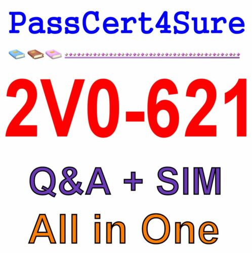 Certified Professional 6 Data Center Virtualization 2V0-621 Exam Q/&A PDF+SIM