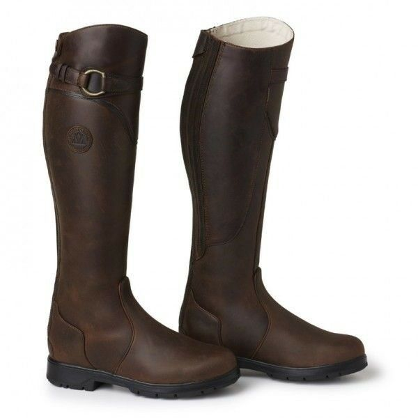 Mountain Horse Spring River High Rider Tall Riding stivali Waterproof with Zipper