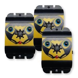 isotronic vogelabwehr vogelschreck ultraschall batteriebetrieben mobil 3er set ebay. Black Bedroom Furniture Sets. Home Design Ideas