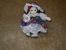 "Little Ladies by Berkeley Designs ""Star Spangled Banner"" Wind-Up Musical Doll"