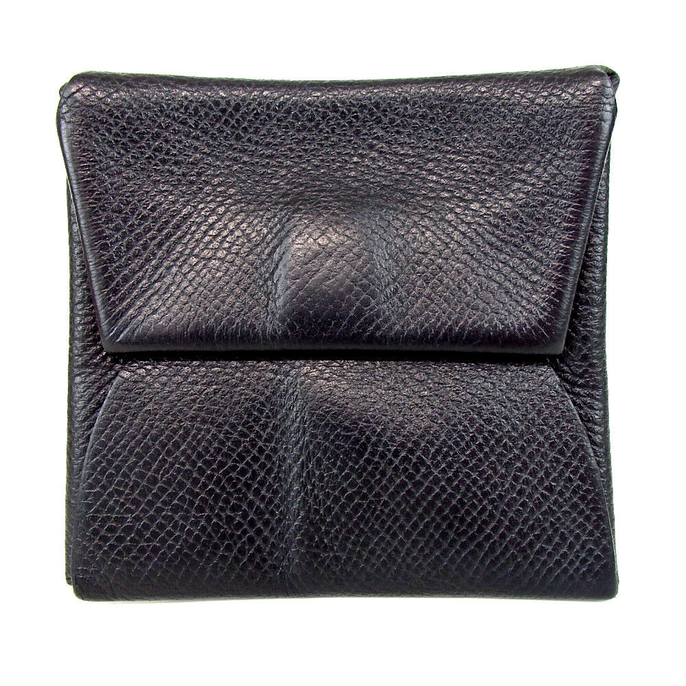 Authentic HERMES Bastia coin purse leather[Used]