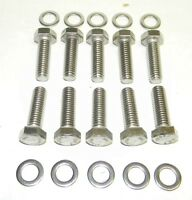 Pontiac 400 - 455 Stainless Steel Intake Manifold Bolt Kit