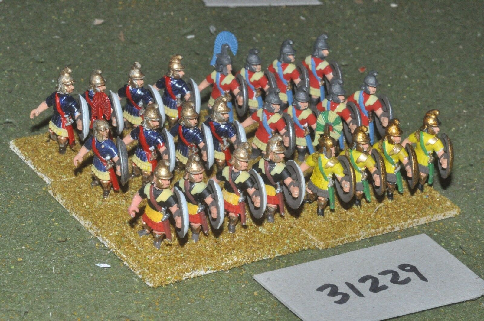 25mm classical   macedonian - pikemen 24 figures - inf (31229)