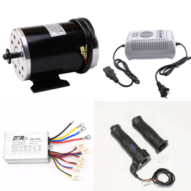 48V 1000W Electric Bicycle Scooter ATV Brush Motor Speed Controller LCD Throttle