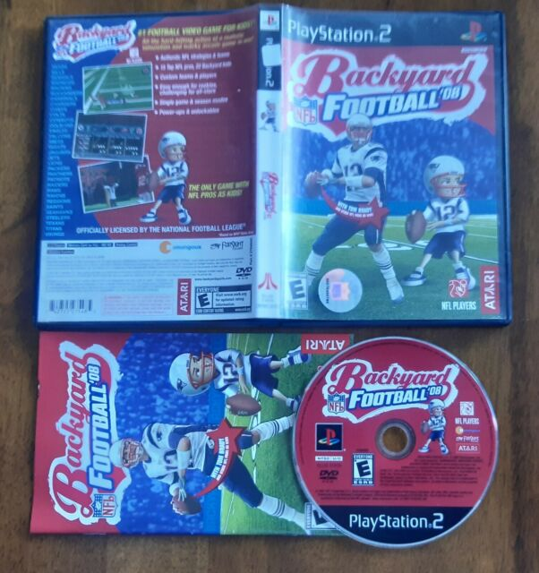 Backyard Football '08 Tom Brady (Sony PlayStation 2, 2007
