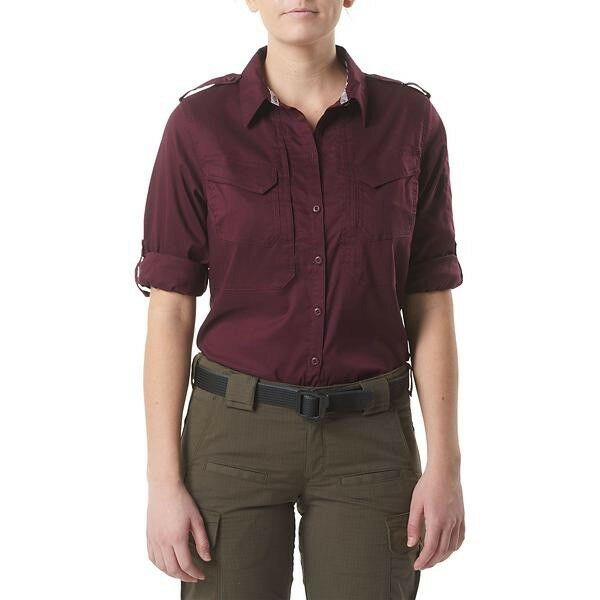5.11 Tactical Spitfire Shooting Shirt Nappa Women's Long Sleeve Top