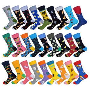 Mens-Cotton-Socks-Novelty-Animal-Aliens-Funny-Unisex-Dress-SOX-For-Wedding-Gift