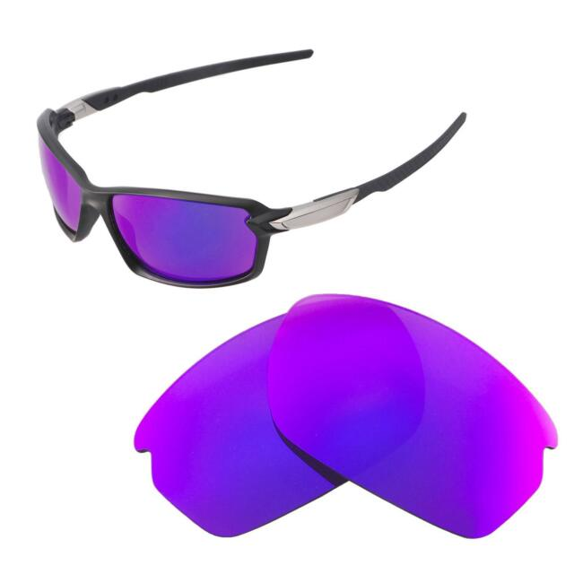 bfc10e7c582 Walleva Purple Polarized Replacement Lenses For Oakley Carbon Shift  Sunglasses